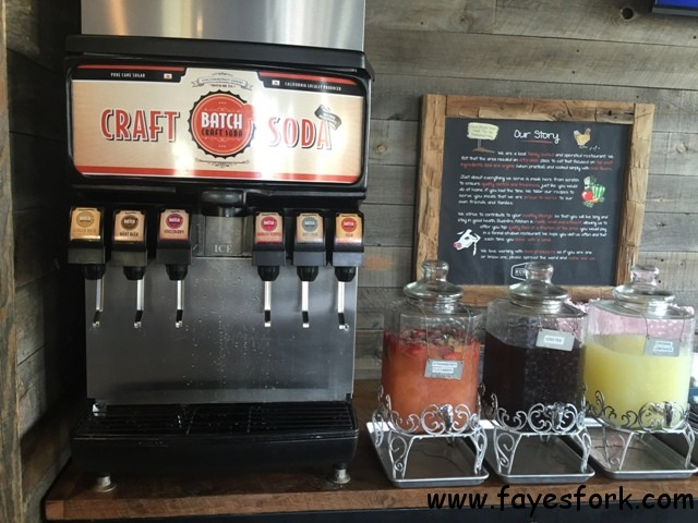 CRAFT SODA AND DRINKS