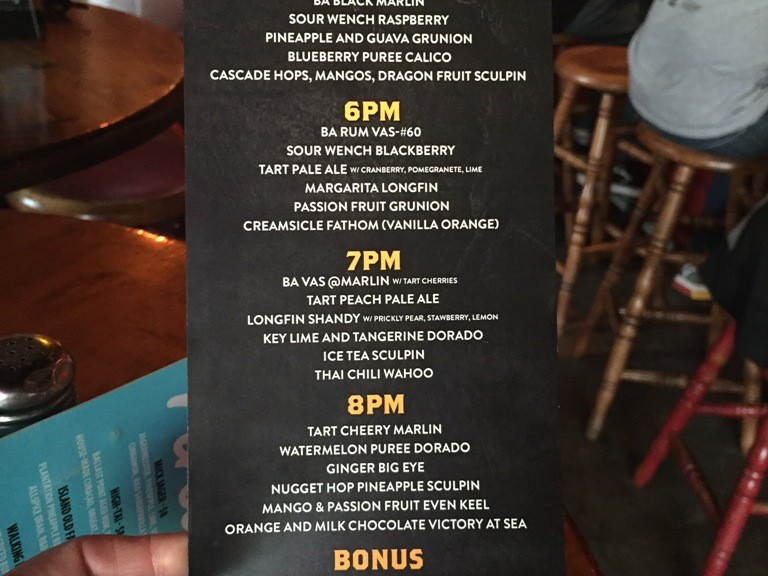 BALLAST POINT TAP TAKEOVER - THE LIST