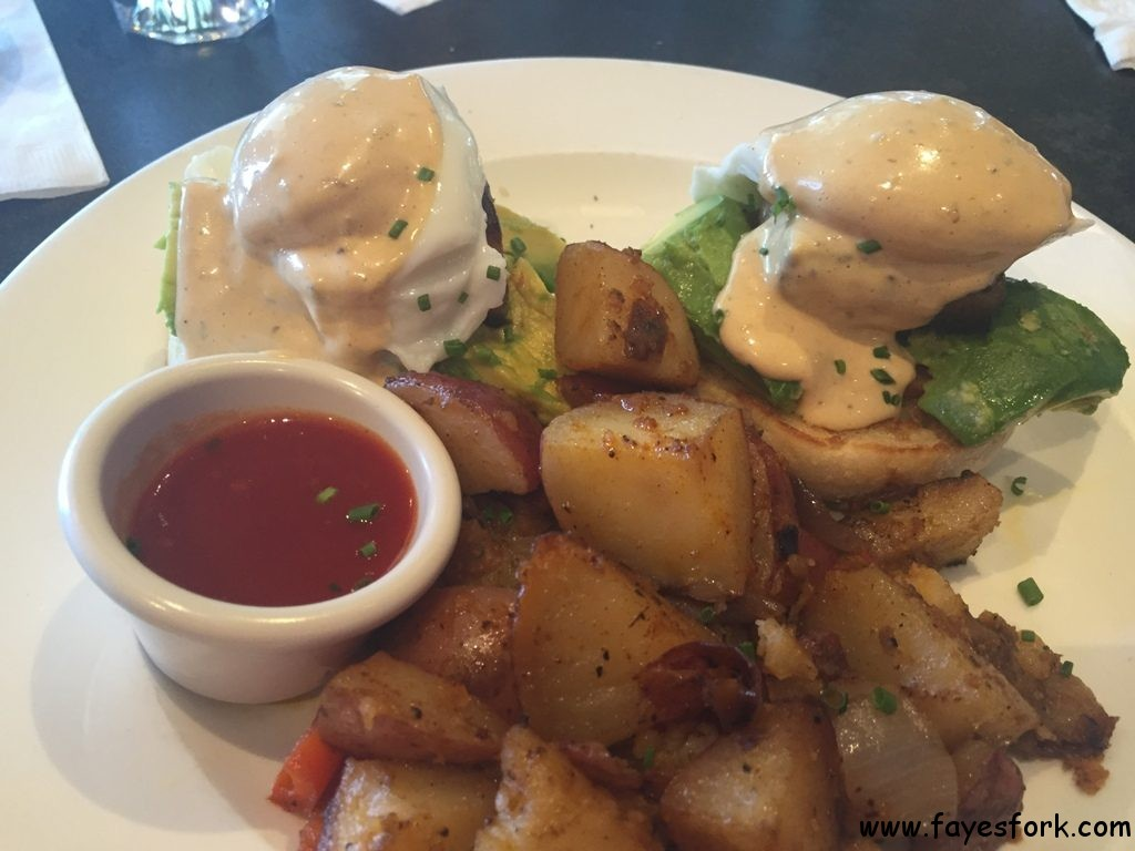 PCG Benedict - Pork Belly $17